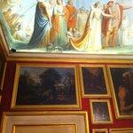 Museo di Casa Martelli a Firenze, particolare del soffitto di una sala