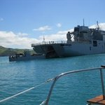 We approach NZ Navy