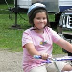 Biking around campground