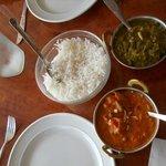 Not a lot of food at Priya
