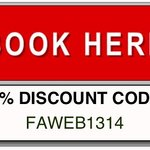Book online and save. Redeem coupon on our website.