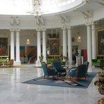 The stunning hall