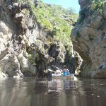 Rowing up the kloof.
