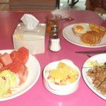 Breakfast was nice