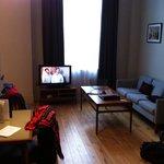 Restful living room