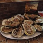 Raw oysters.... This plate was gone in 60 seconds