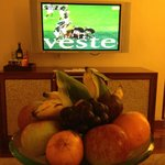 Welcome fruit and rugby