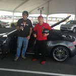 Audi R8 with Instructor Dave