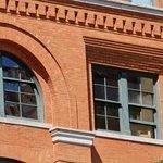 the window of the sixth floor