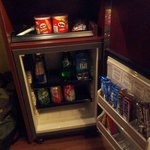 Snack bar in room