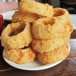 Onion rings were to die for~excellent!
