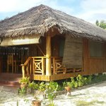 The Cottage. Php 1800/overnight. No aircon. 2 beds. With ref, stove, 2 stand fans. Good for the