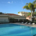 Pool area at Novotel Monte Carlo