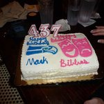 Son's and Daughter-in-law's Birthday Cake