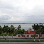 Lagune de Bacalar vue du fort