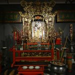 Chinese temple exhibition