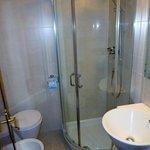 Bath in standard double room