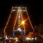 srirangam (en) lighted Temple tower-Muralitharan 22.12.13