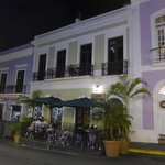 Cafe Puerto Rico's exterior and outside dining area