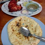 "All time best ""Tandoori Chicken and Butter Naan"""