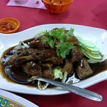 Almost melt in my mouth, Teochew braised duck. 好吃!