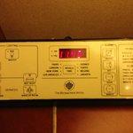 Auto remote bedside room control