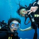 Underwater fun...