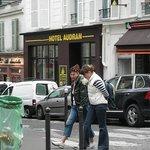 Париж, отель Audran.