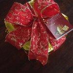 Traditional Christmas Panettone freshly baked