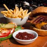 beef and bone marrow burger