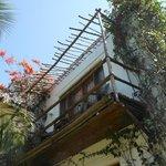 il balcone della nostra camera