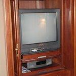 Old school box TV