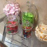 Sweets in the lobby