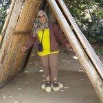 At Cango Ostrich Farm-Oudtshoorn