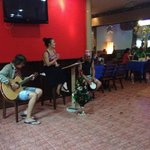 live music in the evenings