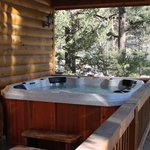 Choice amenities such as a full kitchen, washer/dryer, fireplace, hot tub, cable TV, Jacuzzi Tub