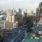 Central Bangkok view