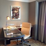 Club Suite work area