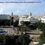 Hotel Cinema Tel Aviv Dachterrasse