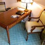 Elegant writing desk in our Junior Suite