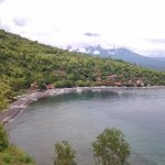 the beach reaort of Amed, 2 kilometers to the East