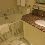 Marble bathroom, beautiful and comfortable