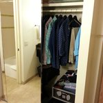 Lots of wardrobe space