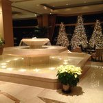 Holidays in the lobby