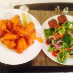 Wings n salad $32!!!