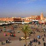 vue panoramique depuis l'Etoile de Marrakech