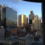 City view from room