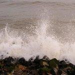 sea wave crashing