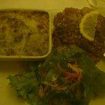 Lambis grillés sauce créoles et ses garnitures