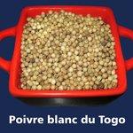 Poivre blanc du Togo...